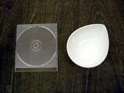 白い食器フォンテ デュードロップボール13cm