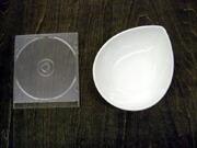 白い食器フォンテ デュードロップボール16cm