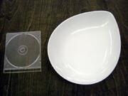白い食器フォンテ デュードロップボール26cm