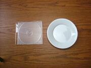 白い食器フォンテ 丸皿16cm