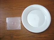 白い食器フォンテ 丸皿27cm