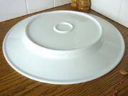 白い食器フォンテ 丸皿31cm