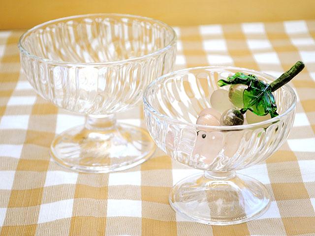 ガラス食器「ソルベ アイスクープ 380cc」