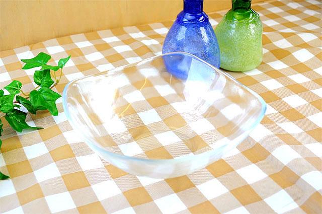 ガラス食器オアシススクエアーボール