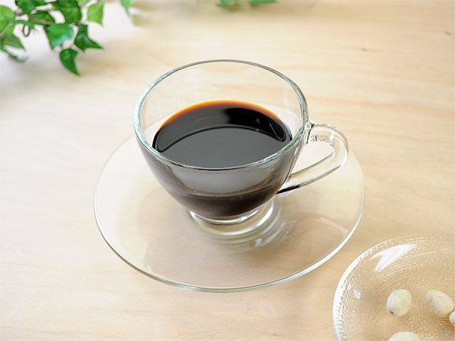 ガラス食器 コスモティーカップソーサー