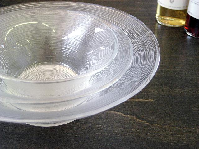 ガラス食器イマージュ 深ボール 19.5cm