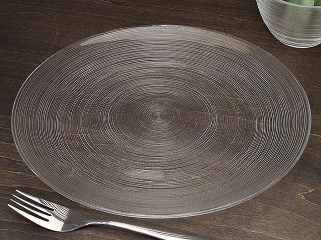 ガラス食器イマージュ クープ皿27.5cm