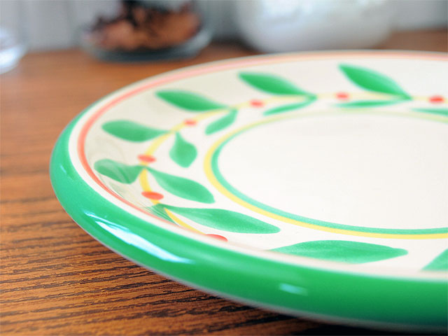 イタリア風食器ヴェローナ 19cmケーキ皿