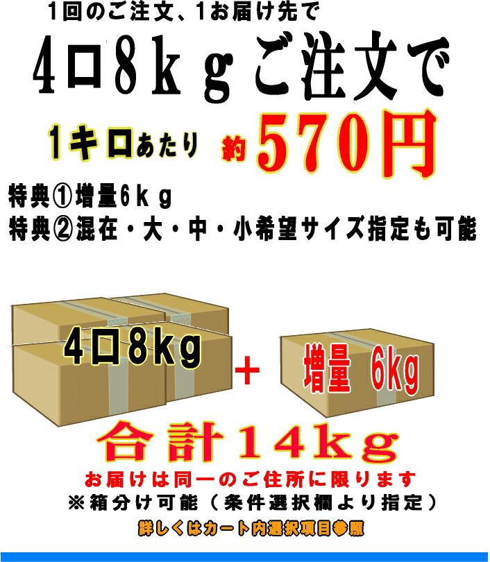 4箱14kg