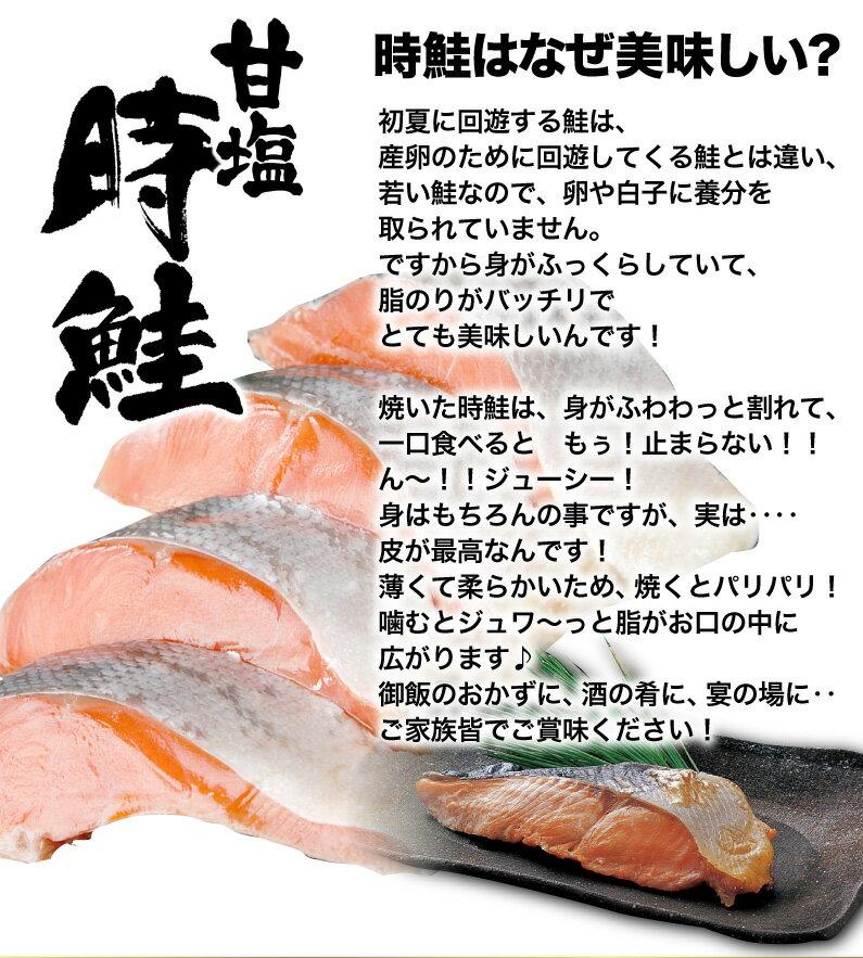時鮭はなぜ美味しい?