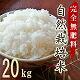 完全無肥料自然栽培米ヒノヒカリ20kg