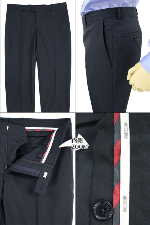 メンズスーツ シングル モスキーノ MOSCHINO イタリア製 インポート