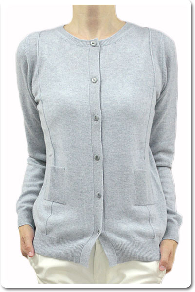 120%lino 長そで ニット セーター