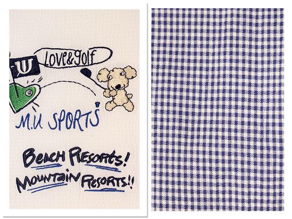 エム ユー メンズ mu sports 半そで シャツ