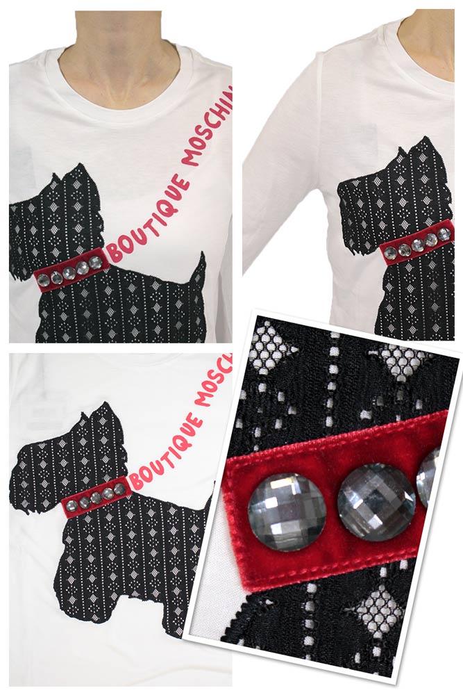 Tシャツの詳細 ブランドは ブティック モスキーノ BOUTIQUE MOSCHINO