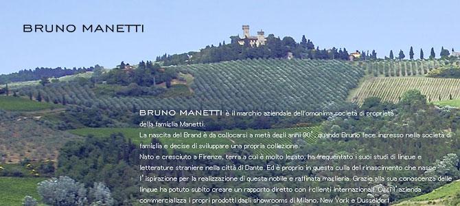 BRUNO MANETTI ブルーノマネッティ