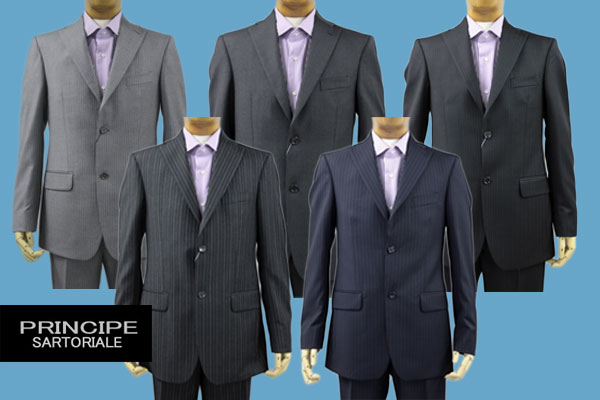principe イタリア スーツ メンズ 在庫一掃