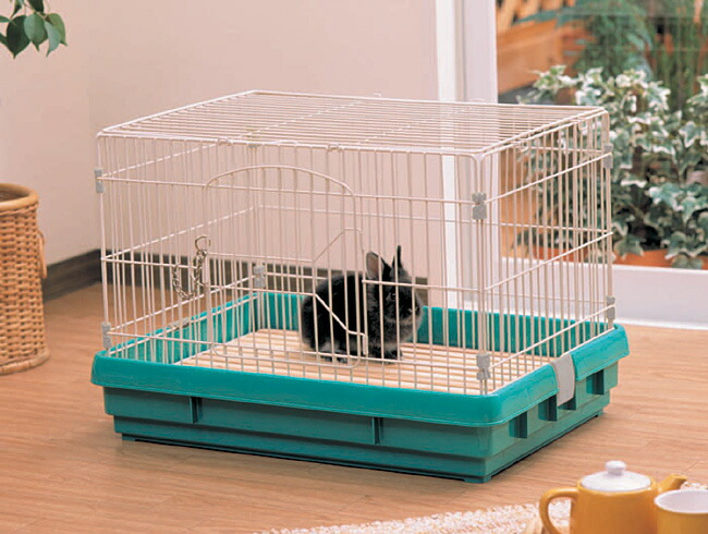 how to build a small rabbit cage