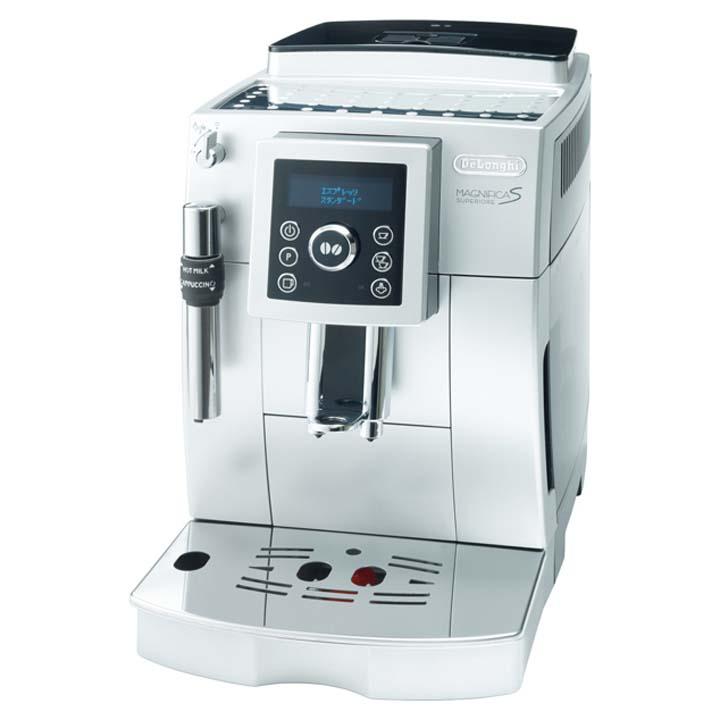 コーヒーメーカーカフェラテDeLonghi調理家電マグニフィカSスぺリオレ全自動エスプレッソマシン3620-000238デロンギ