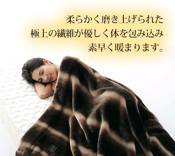 カルドニード CALDO NIDO 掛け毛布【セミダブル】