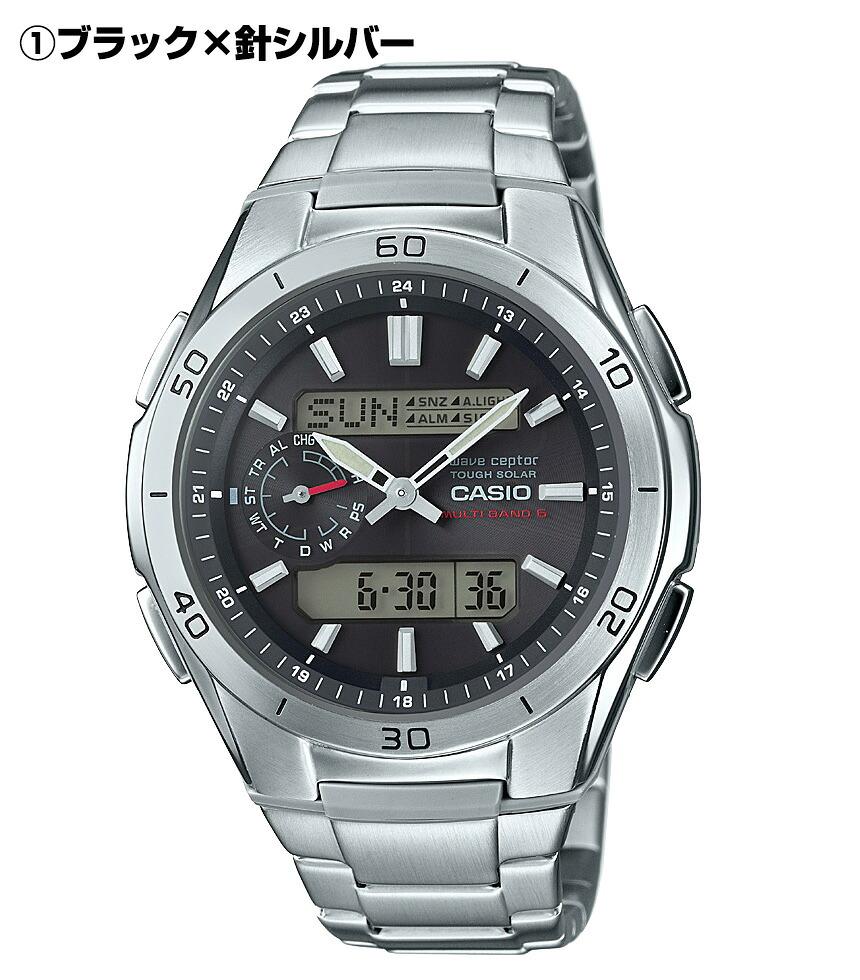 カシオ電波ソーラー腕時計ウェーブセプター WVA-M650D