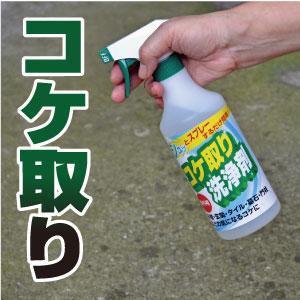 コケ取り洗浄剤