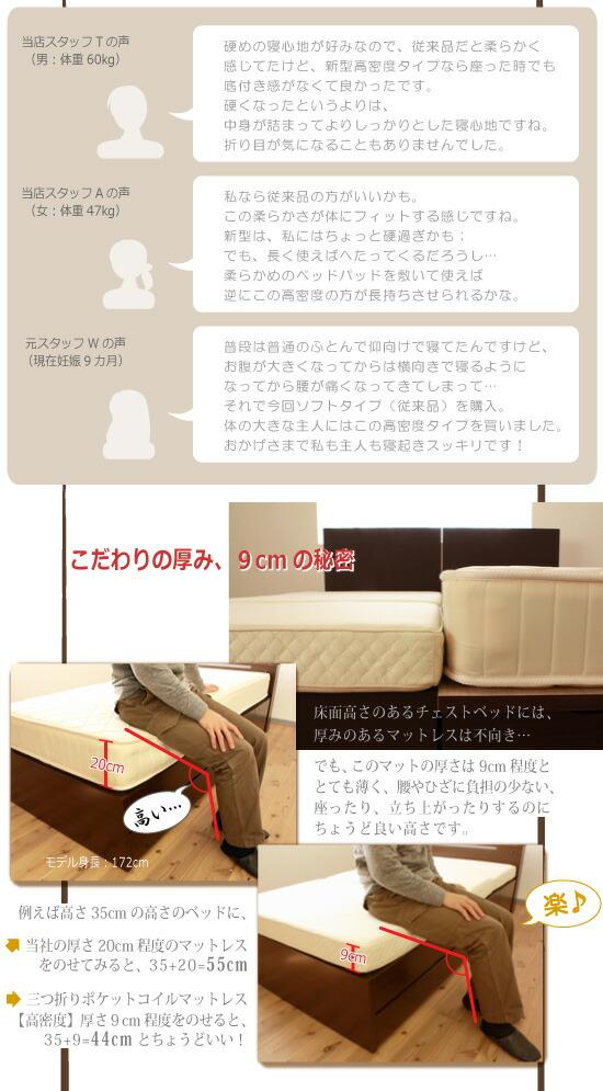 選べる3タイプヘッドBOX引出付ベッド