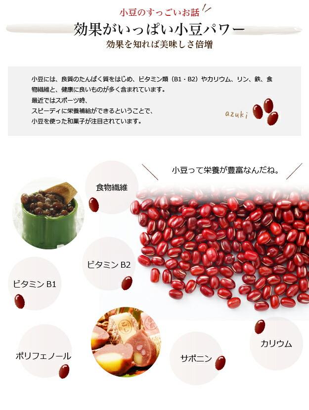 小豆の効果 効果を知れば美味しさ倍増 ビタミンB1 ビタミンB1 カリウム サポニン ポリフェノール