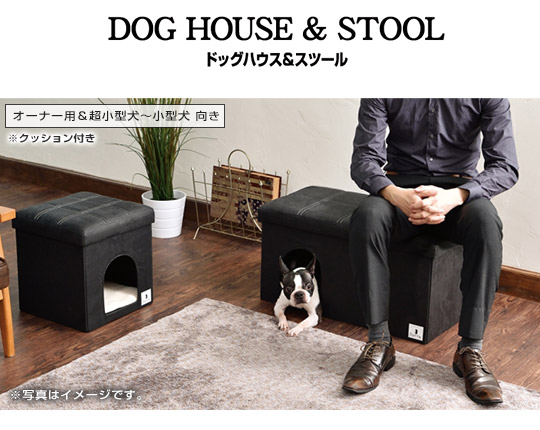 DOG HOUSE  STOOL