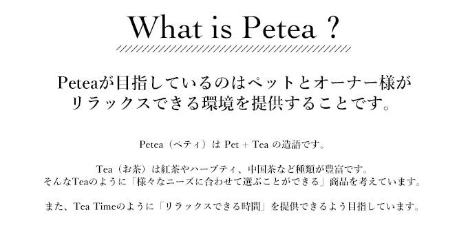 ペティとは? Peteaが目指しているのはペットとオーナー様がリラックスできる環境を提供すること