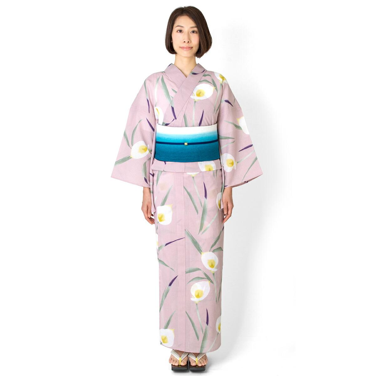浴衣【カラー】ローズミスト