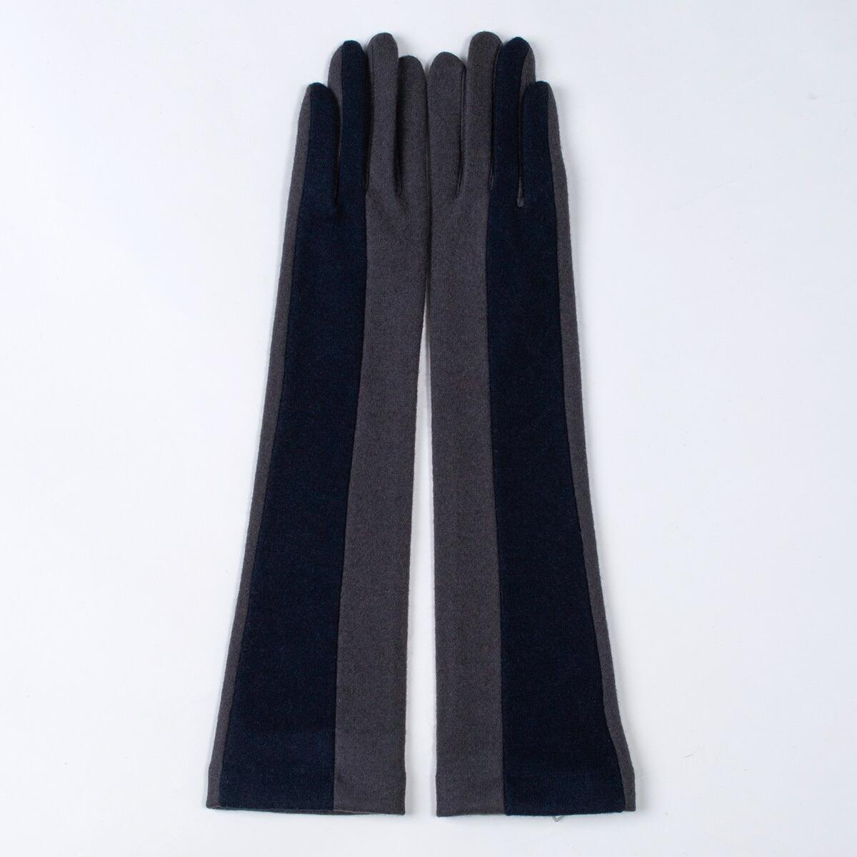 着物屋くるり 和装 手袋 ロンググローブ ウール 防寒