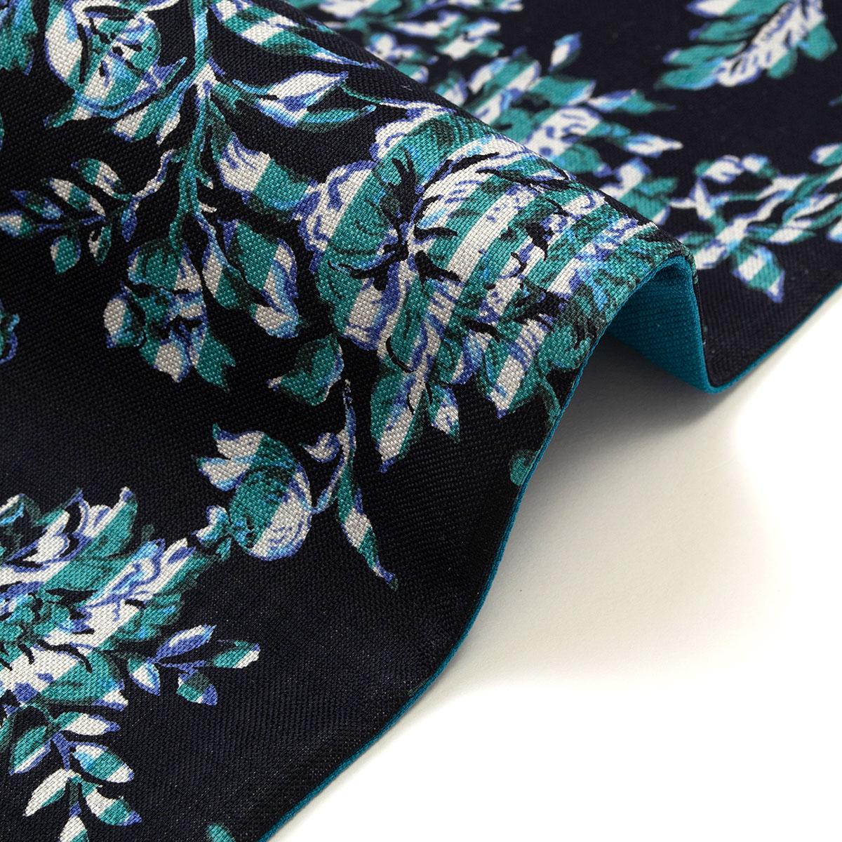 着物屋 くるり リバーシブル 半幅帯 更紗ストライプ
