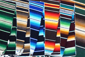 MEXICAN BLANKETS サラペ/FALSA/DIAMONDS LARGE SIZE