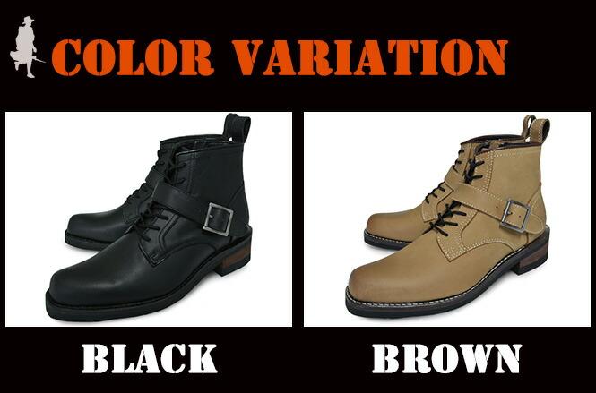 BLACK BROWN グッドイヤー製法 20012 ブラウン ブーツ ブラック ベルト アルファ インダストリーズ バイカー メンズ ALPHA INDUSTRIES INC.