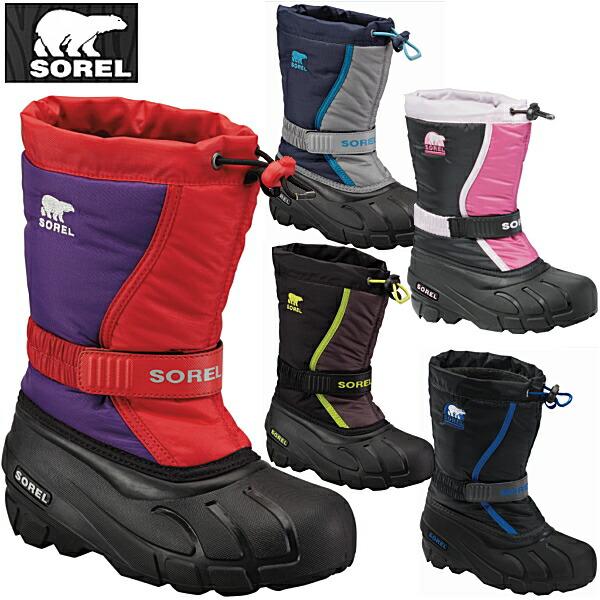 Shoes shop LEAD | Rakuten Global Market: Sorrel kids snow boot ...