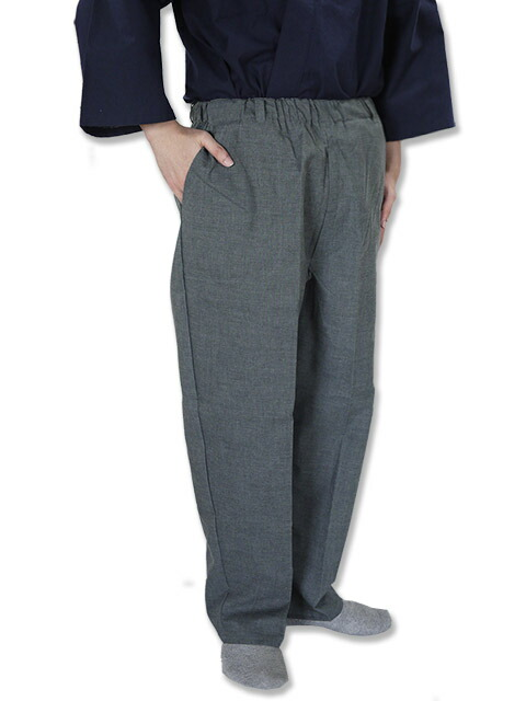 Watanosato: Relaxation Fitting Loose Trousers Slacks