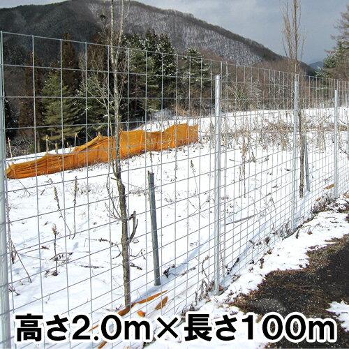 パネル型金網フェンス2000