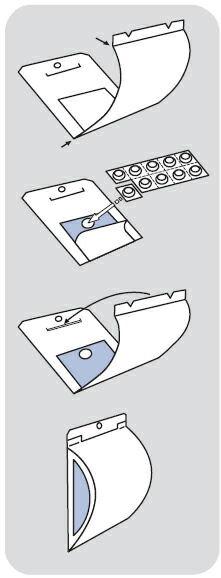 誘引剤の透明なフィルムは破らないで下さい