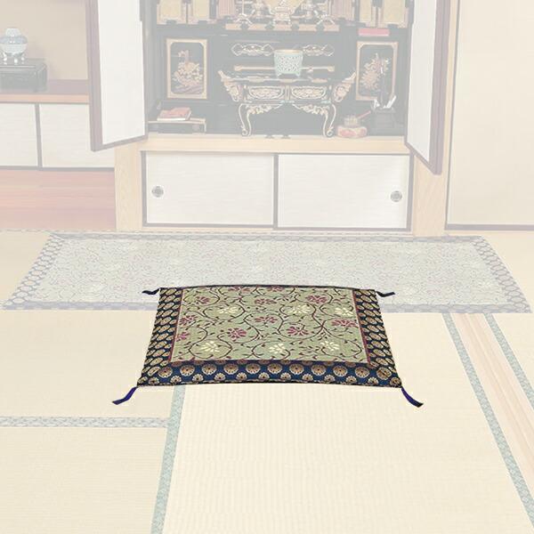 仏間の座布団(敷物なし)