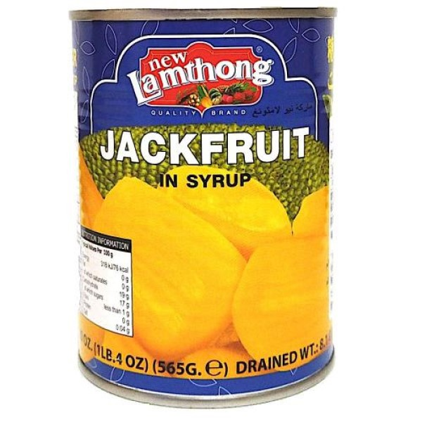 Lamthong ジャックフルーツ シロップ漬け 565g JACKFRUIT IN SYRUP
