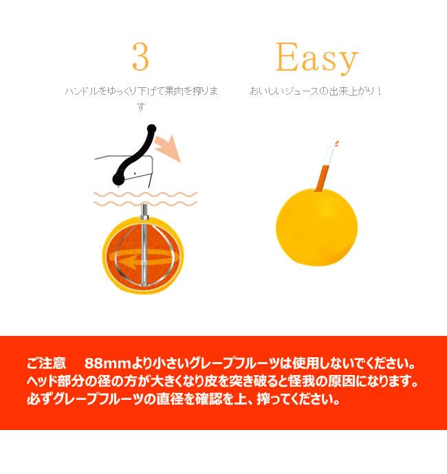 柑橘類果汁搾りカジュッタ(CAJYUTTA)CJT3-04