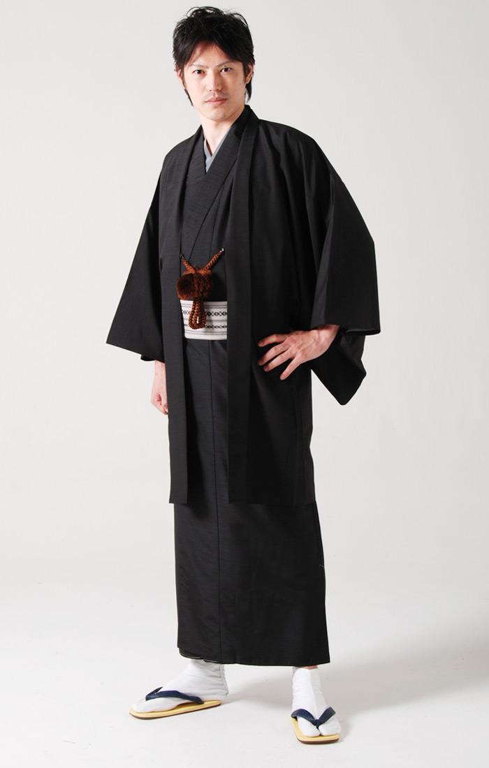 【楽天市場】《新サイズ 男着物13点フルセット》紬着物+紬羽織 ...