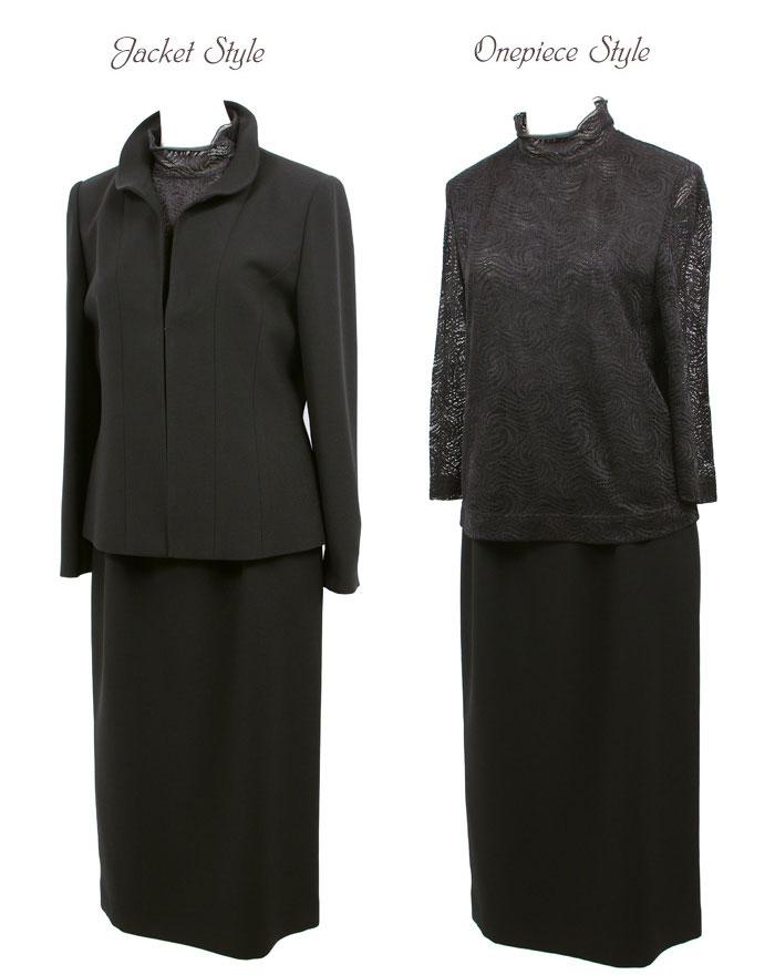 京都スタイル ブラックフォーマル(喪服・礼服) スリーピース フォーマルスーツ