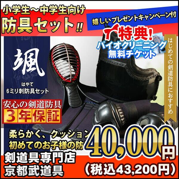 6ミリミシン刺剣道防具颯(はやて)
