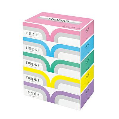 ☆送料無料 ネピア プレミアムソフトティッシュペーパー 180組 5箱×12パック 00191