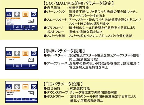 MDM-200 液晶スクリーン設定画面1