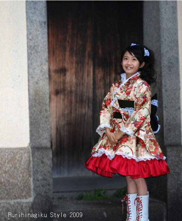 ازياء يابانيه للبنوتات الصغار
