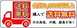 送料無料 合計3,980円以上購入で送料無料 ※北海道、沖縄、離島を除く