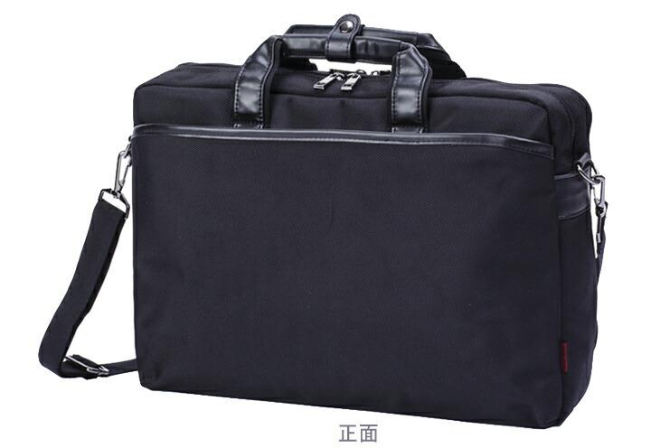 ビジネスバッグ パソコン収納 ブリーフケース 黒 ブラック